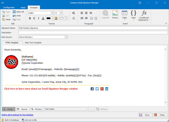Outlook Office 365 And Exchange Email Signature And Disclaimer